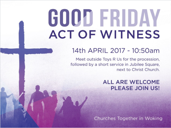 Good Friday Act of Witness 2017